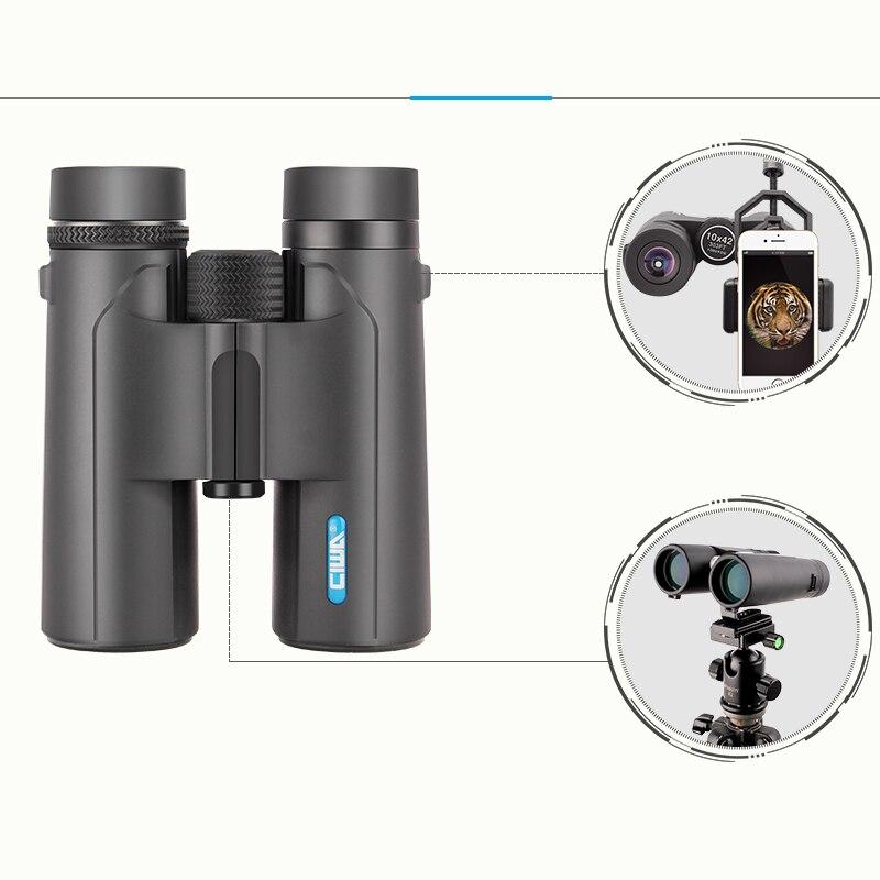 CIWA waterproof ocular binoculars 10X42 Vision King life waterproof hunting digital binoculars Night Vision outdoor telescope цена и фото