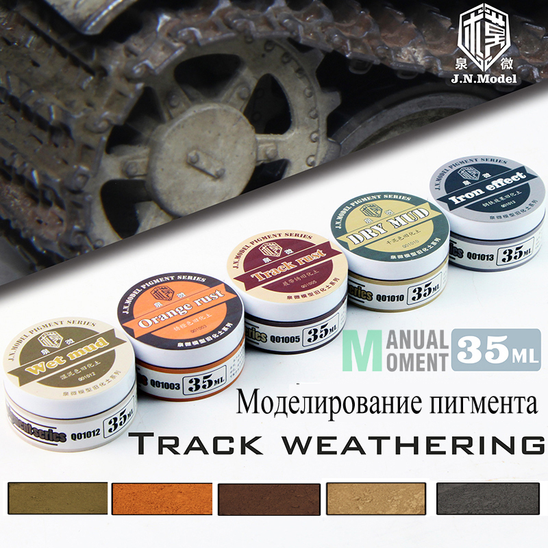 Model Modelling Pigment Track Weathering Set Do Old Powder Effect Of Battle Damage Natural Soil Model Do Old Special Accessories