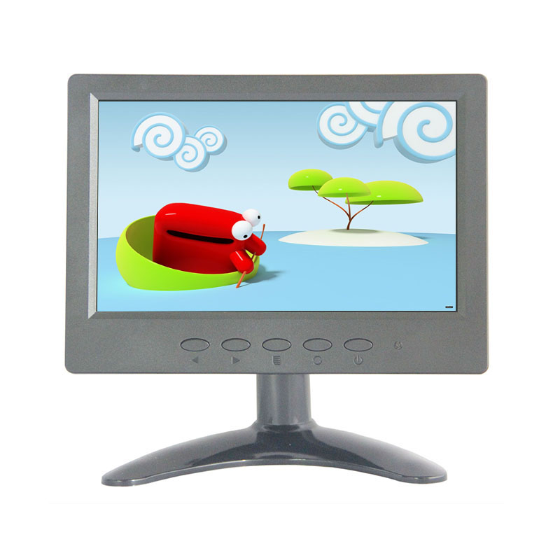 7 inch touch screen monitor 1024*600 cctv touch monitor with AV/BNC/VGA/HDMI/USB input white 8 inch open frame industrial monitor metal monitor with vga av bnc hdmi monitor