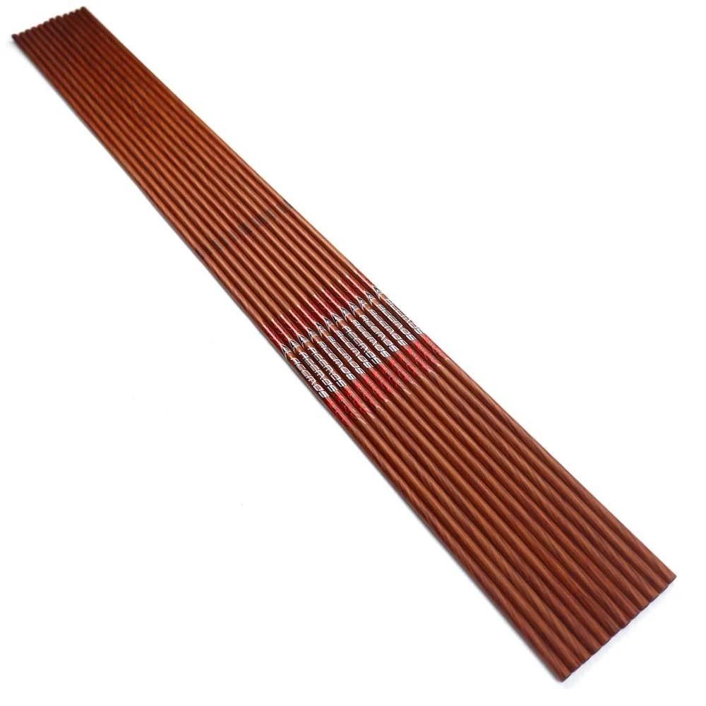 6//12pcs Spine 500 Carbon Arrow for Recurve//Compound Bows Archery Hunting K