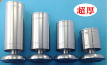 The cabinet feet. Stainless steel adjustable cabinet feet.. The table legs. Tea table legs