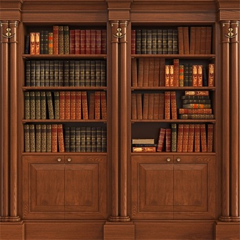Laeacco Old Wooden Bookshelf Bookcase Glass Study Room Interior Photographic Backgrounds Photography Backdrops For Photo Studio
