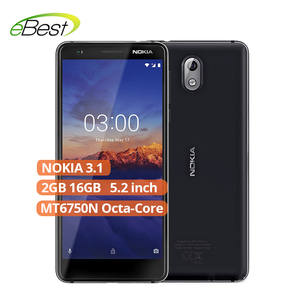 Nokia 3.1 Android 4G LTE Smartphone 5.2 ''HD + display 18:9 ratio 2 GB 16 GB MT6750N