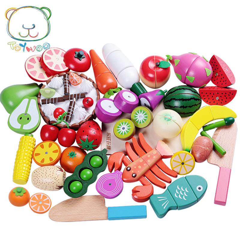 [Toy Woo] Toys for Educational Toys Kids Kitchen for Girls Wooden Cutting Children Cooking Kitchen Gas Stove Toys Pretend Play candywood mother garden baby kids wood kitchen cooking toys wooden kitchenette gas stove educational toys for girl gift