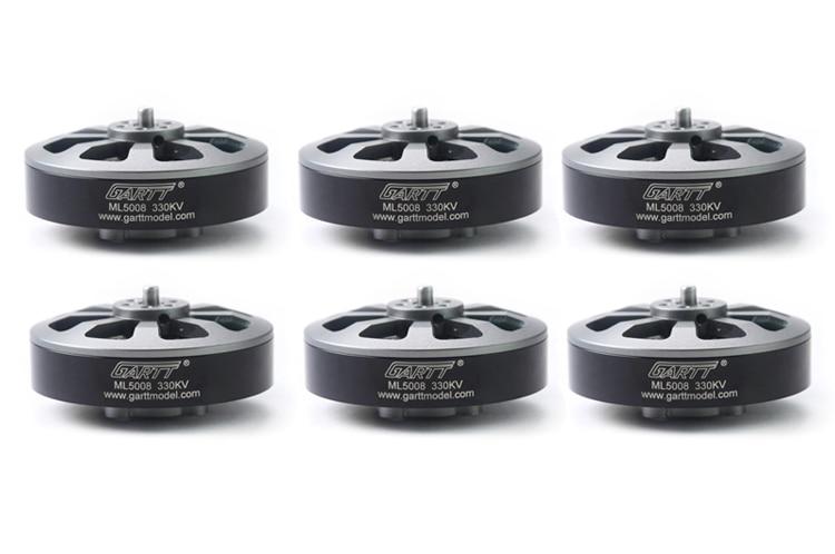 ФОТО 6pcs gartt ml5008 330kv brushless motor for t960 t810 multicopter drone mt-085 helicopter