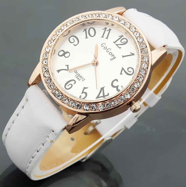 Watch Women Leather Quartz Watches GOGOEY Brand Luxury Popular Watch Women Casual Fashion Wristwatches Relogio feminino 2017 new fashion tai chi cat watch casual leather women wristwatches quartz watch relogio feminino gift drop shipping