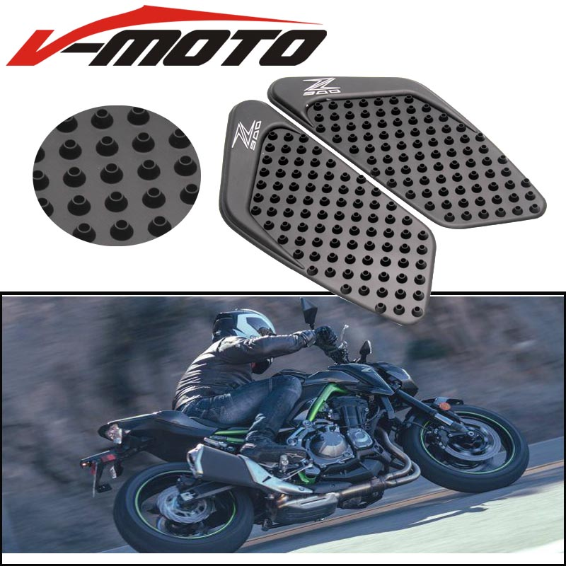 Motorcycle Accessories & Parts Bjmoto Zx 10 R Motorcycle Tank Pad Protector Sticker Decal Gas Fuel Knee Grip Traction Side For Kawasaki Zx10r 2006-2007