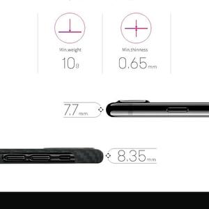 Image 3 - פחמן סיבי מקרה עבור iPhone X מקרה מט ארמיד סיבי Ultra דק באיכות טלפון כיסוי עבור iPhone XS XS מקסימום מקרה Coque