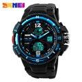 2017 SKMEI Men's LED Digital Watch Men Sports Watches Fashion Casual Outdoor Military Wristwatches Luxury Analog Quartz Clock