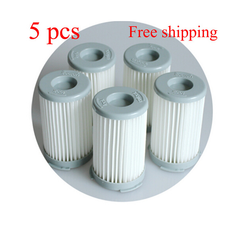 5pcs/lot Vacuum Cleaner Cartridge Pleated HEPA Filter  For  Electrolux ZS203 ZTI7635 ZW1300-213 Replacement велосипед stinger zeta d 27 5 2015