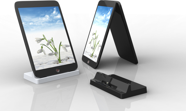 Charger Station Cradle Hot Sync Dock Stand Holder for iPhone 5 with BLUETOOTH Function