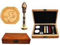 Vintage Cool Unicorn Hors Custom Luxury Wax Seal Sealing Stamp Brass Peacock Metal Handle Sticks Melting