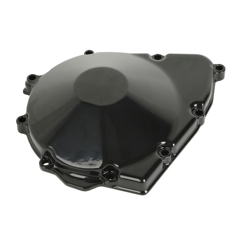 Black Aluminum Motorcycle Left Crankcase Starter Engine Cover For Suzuki GSX400 Inazuma GK7BA GSF600 BANDIT 600 GSX600F/750F starpad for lifan motorcycle v250 lf250 p combination left crankcase cover new accessories