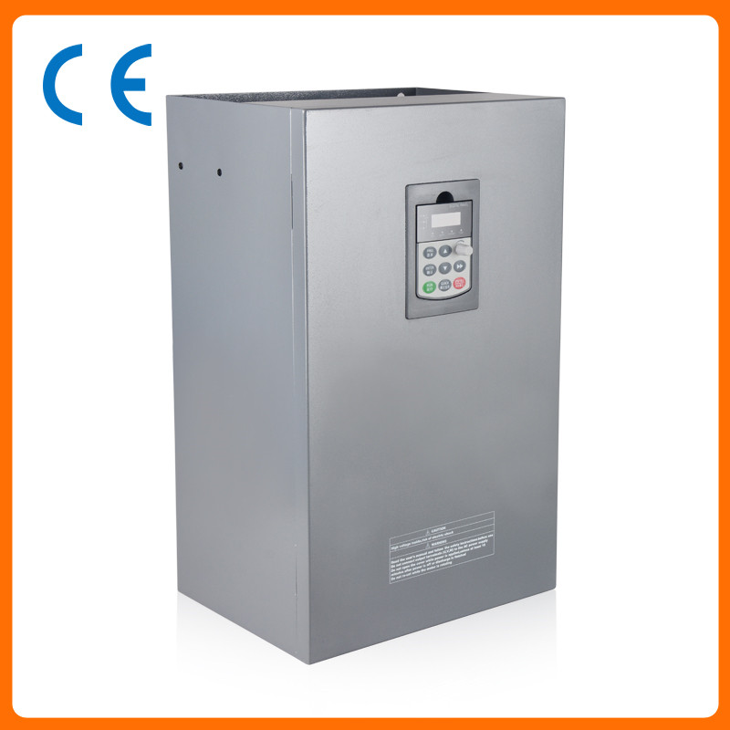 55kw 75HP 300hz general VFD inverter frequency converter 3phase 380VAC input 3phase 0-380V output 112A 90kw 125hp 300hz general vfd inverter frequency converter 3phase 380vac input 3phase 0 380v output 176a