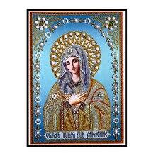 Alien, crystal, diamond embroidery, religion, pattern and rhinestones, Diy, 5D, cross stitch painting, mosaic
