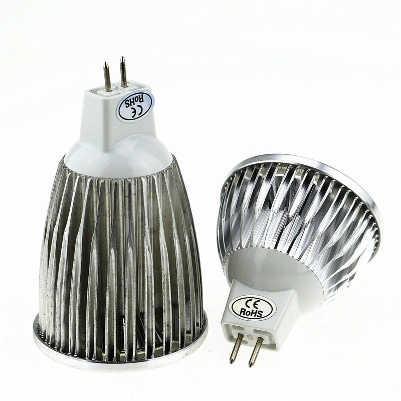 50X Super Heldere Lampada LED Spotlight MR16 12 V COB 9 W 12 W 15 W LED Gloeilamp WarmCool witte LED Verlichting - 4