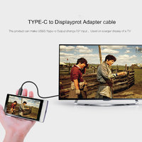 USB3.1 Type-C to DisplayPort Cable 4K@60Hz USB-C to DP for New Macbook Samsung S8 ChromeBook G9500 2