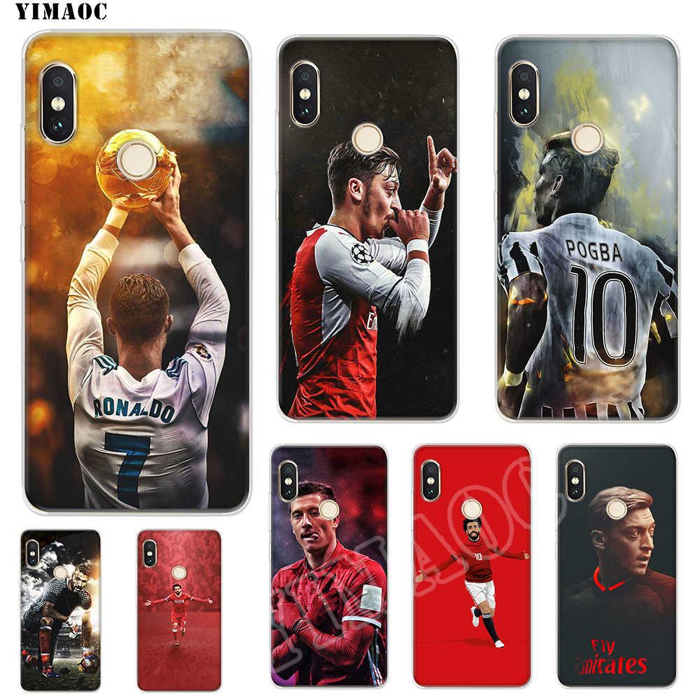 YIMAOC Ronaldo Zinedine Zidane funda de silicona suave para POCOPHONE F1 para Xiaomi rojo mi nota 6 7 Pro 6A mi 8 Lite de la cubierta del TPU del