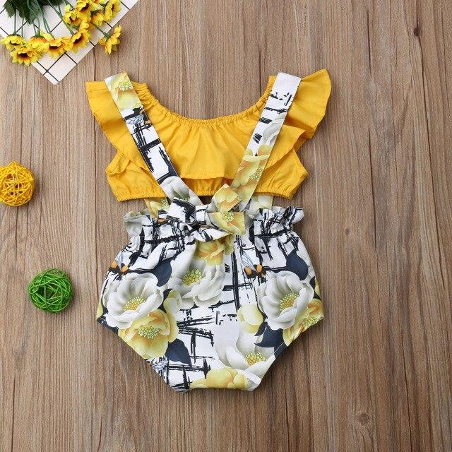 Фото одежда для новорожденных девочек укороченный топ без рукавов