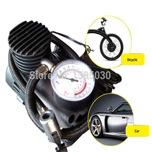 10pcs/Lot 12V 300PSI K590 Electric Auto Car Inflatable Pump Portable Air Compressor Inflator for Bicycle Tire Balls Airbeds