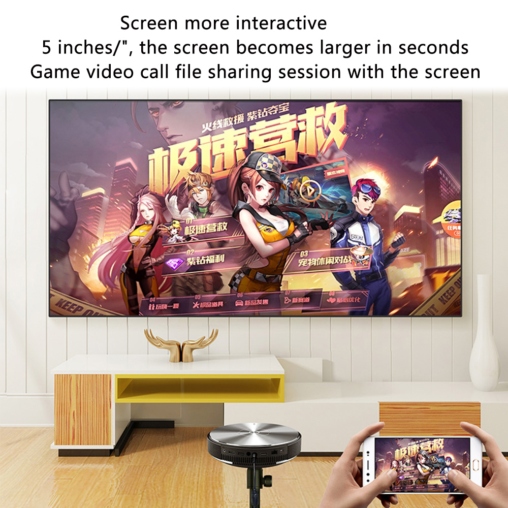 JmGO G7 Mini Projector Full HD  (3)