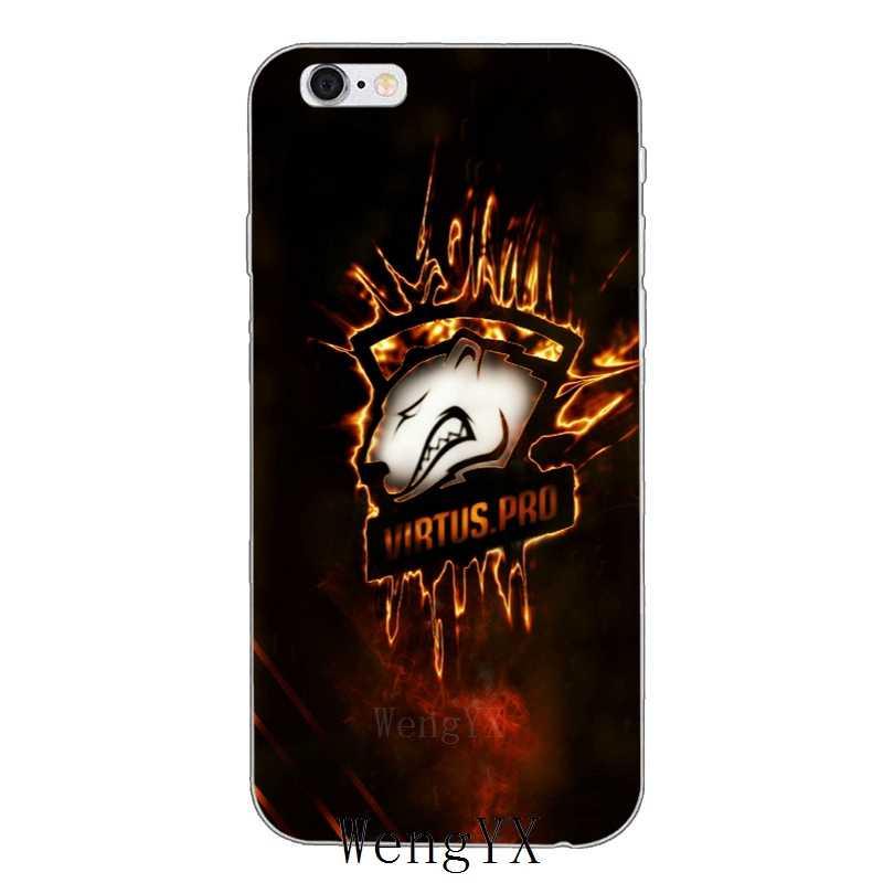 Классный дизайн virtus pro logo тонкий силиконовый мягкий чехол для телефона для Iphone 4 4s 5 5S 5c SE 6 6s plus 7 7 plus 8 8 plus X