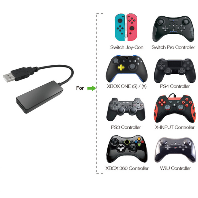 Bluetooth Wired Converter Adapter For PS4, PS3,XBOX ONE