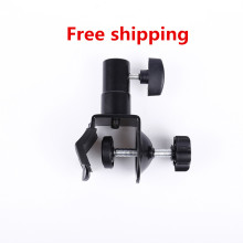 CY In stock Heavy Duty C Clip U Clamp Type for Photo Studio light stand 1/4″ Screw head light stand photographic accessories