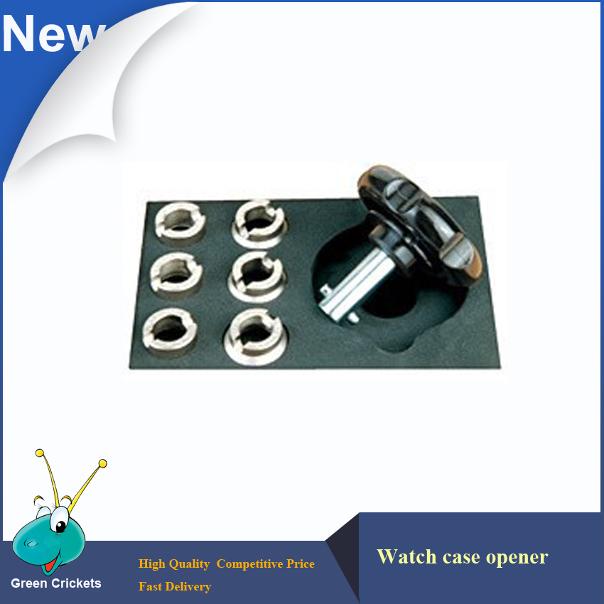 Watch clock Repair tools Watch Case Opener Closer Kit 6pcs Wrench for Watch Case Opener Opening