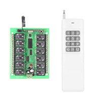 3000M Long Range DC12V 12 CH 12CH Radio Controller RF Wireless Remote Control Switch System 315