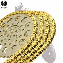 Мотоцикл приводной цепи уплотнительное кольцо 530 L120 для SUZUKI GSX400E 82-87 GSX400FW 83-GSX400FX 81- 86 GSX400TX 85 GS425N, EL, EN 79-80
