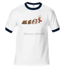 Evolution Of Super Mario T Shirt Design Famous Gaming Top T-shirt Cool Novelty Funny Tshirt Style men brand ringer tees(China)