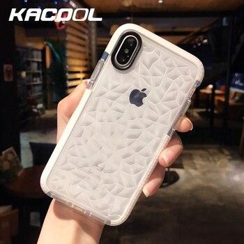 For iPhone 8 Plus Case luxury Transparent Silicone Case for iPhone 7 Soft Candy Phone Case Cover for iPhone X 6 6S 7 8 Plus Capa iPhone