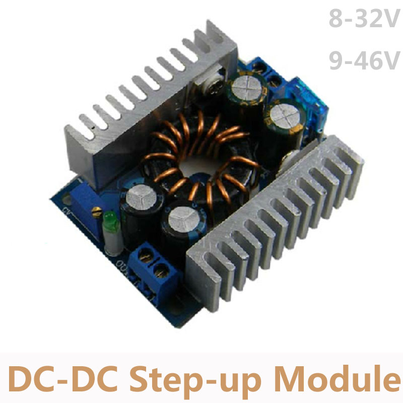 <font><b>DC</b></font> 8-32V to 9-46V <font><b>Step</b></font> <font><b>up</b></font> Module <font><b>150W</b></font> High Power Boost Converter Module for Mobile Car Notebook Power Supply C7A2 image