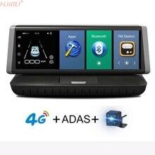 8Inch 4G ADAS Car DVR Camera Android 5.1 Dashcam Registrar Full HD 1080P Video Recorder Dual Lens dvrs Gps Navigation