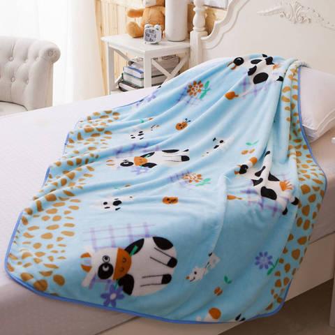unica camada coral velo bebe cobertores recem nascido cama nap colcha dos desenhos animados padrao