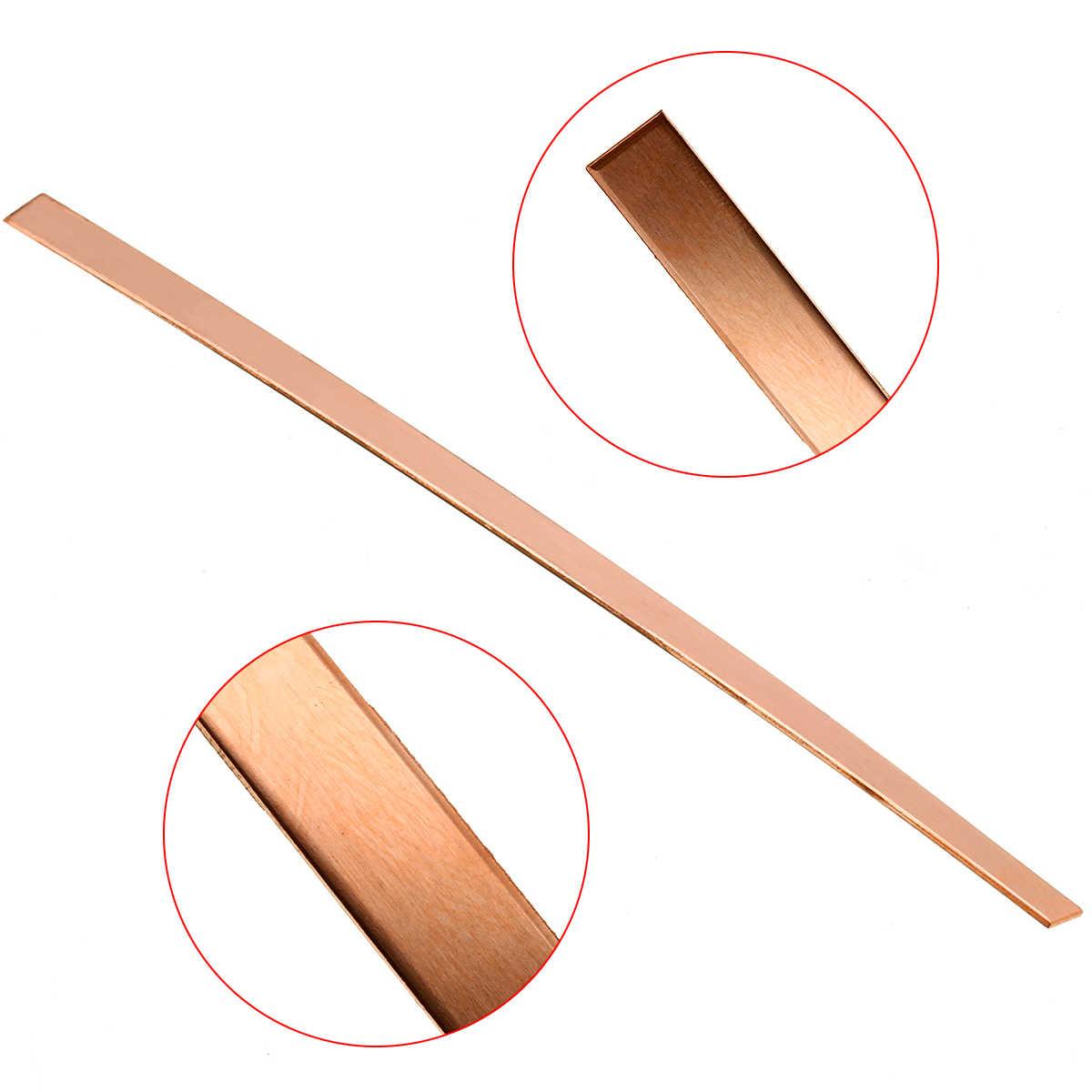 12mm Thickness Copper Bar 99.9/% Pure Copper Strip T2 Cu Metal Sheet for DIY PCB Kit Laminate Circuit Board 50mm200mm