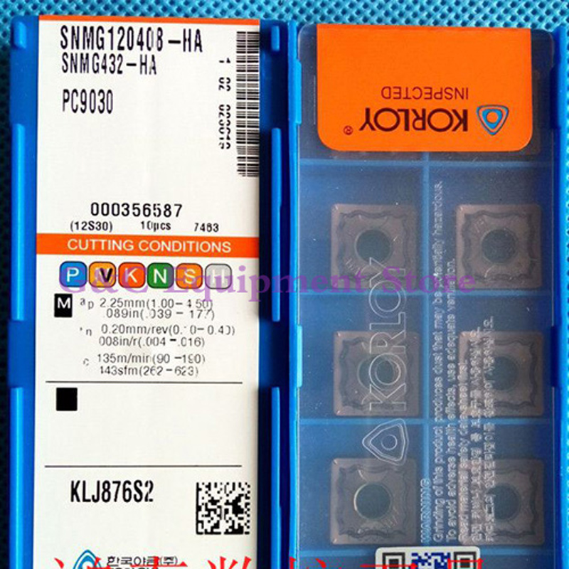 ORIGINAL SNMG120408HA PC9030 CNC TURNING TOOL LATHE TOOL SNMG120408 HA PC9030 CARBIDE INSERTS