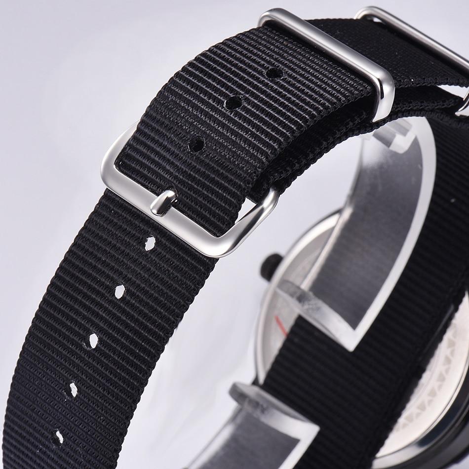 ONLYOU Charm Reloj de moda Casual Nylon Banda de reloj Relojes de - Relojes para hombres - foto 4