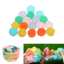 18PCS Simulation Sugar Ball Mud Filler Slime Beads DIY Slime Accessories For Foam Slime Fluffy Slime Clay Decoration(China)