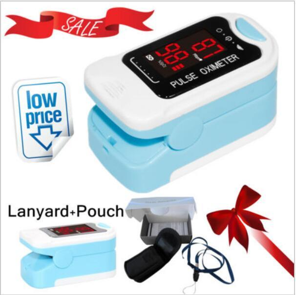 CONTEC CMS50M New Fingertip Pulse Oximeter Blood Oxygen Saturation SPO2 Heart Rate Monitor 8
