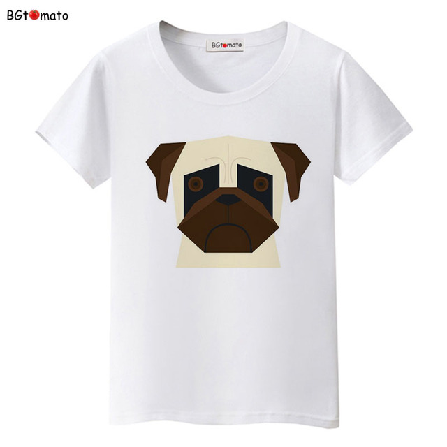 34610c989 BGtomato Cute digital dog 3D t shirts woman lovely cartoon top tees  Original Brand Good quality summer shirts