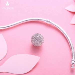 Image 5 - ¡Vídeo! Abalorios de estrellas fijas para cuentas de plata esterlina 925, compatibles con pulseras y brazaletes, color que nunca cambia, DDBJ071