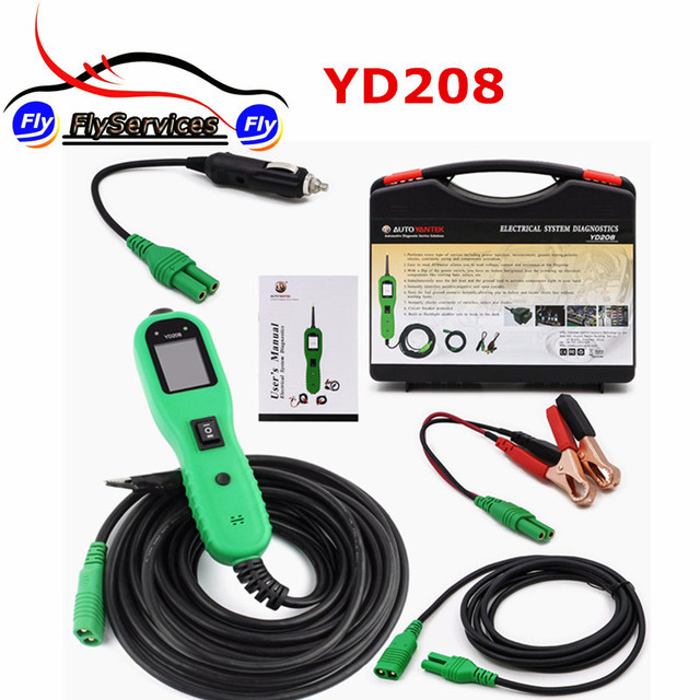 Terrific Yantek Powerscan Yd208 Circuit Tester Elektrische Tester Test Wiring Cloud Hisonuggs Outletorg