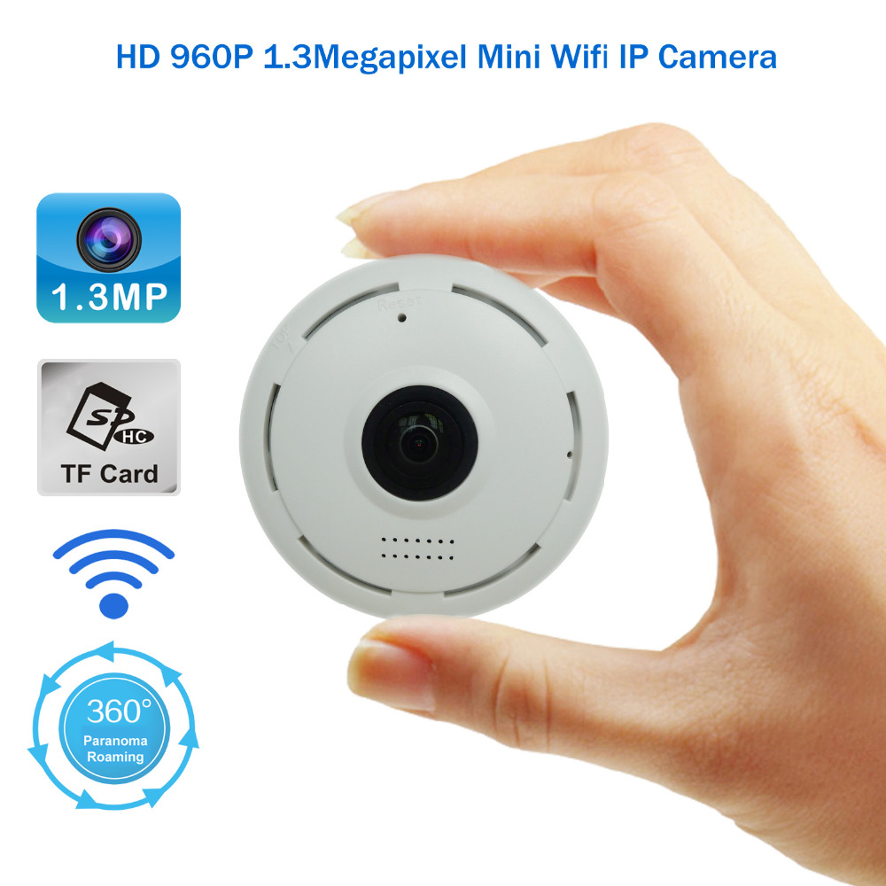 ФОТО 2017 New Designing HD960P VR Technology Mini Wireless Surveillance IP Camera