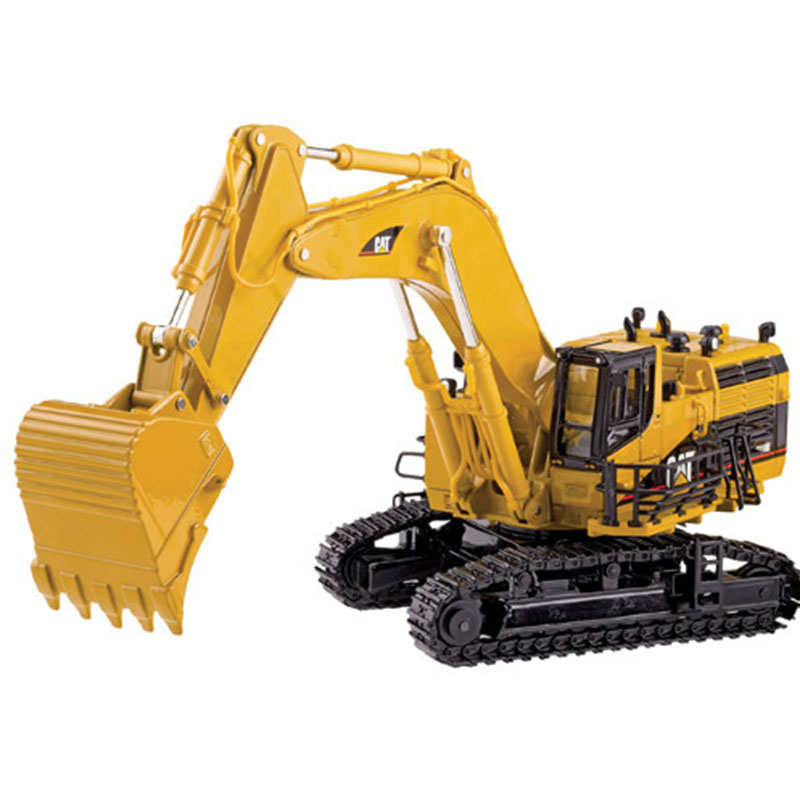 HOT SALE] 1:50 CAT320D Hydraulic Excavator with white toys