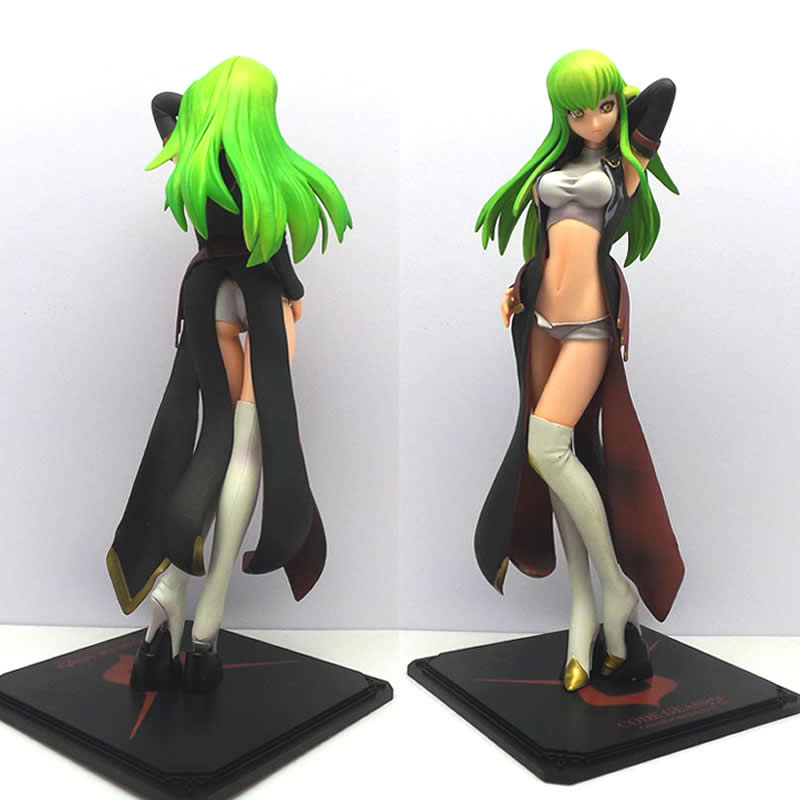 Code Geass Lelouch of the Rebellion 1/8 Scale Painted Figure Sexy C.C. Figure Toy Collection Model Brinquedos Decoration Gift japan warring states warriors q version of the war era of japanese samurai toy model decoration collection 7pcs set