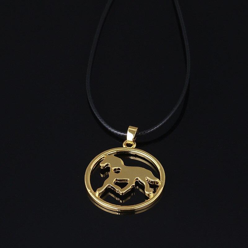 Лошадь ожерелье любовника жеребец Верховая езда чулок писака ожерелья и кулоны кожа стро ...