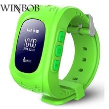 Дешевые Gutighala дети Smartwatch Q50 sos-вызов gps трекер для smart watch с сим-карты smart watch для детей PK Q90 Q730