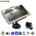 TOPSOURCE 7 Inch Car GPS Navigation WinCE 6.0 Bluetooth AVIN Rear View camera 8GB/256MB Europe/Navitel map Navigator Vehicle gps